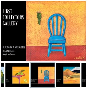 Paintings from the First Collectors Gallery - Product Image